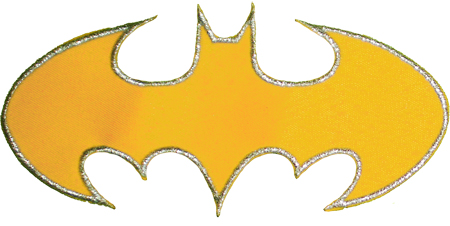 Batgirl Logo http://www.ebay.com/itm/BATGIRL-Replica-Chest-Logo-Suit-Embroidered-Patch-Super-Powers-Batman-Comic-/120930676975