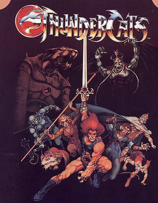 Thunder Cats Series on Serie  Thundercats